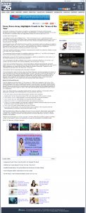 Forex Peace Army   KMPH-TV FOX-26 (Fresno, CA)