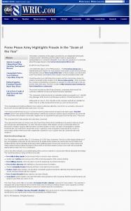 Forex Peace Army   WRIC ABC-8 (Richmond, VA)
