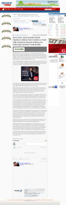 Dmitri Chavkerov -  Beyond The Dow  - Consistent Money