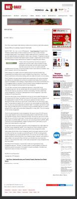 Dmitri Chavkerov -  Biz Daily (Singapore)  - Consistent Money