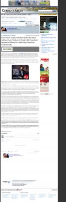 Dmitri Chavkerov -  Carlsbad Current-Argus (Carlsbad, NM)  - Consistent Money