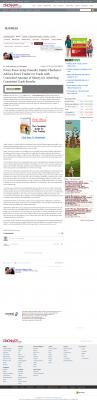 Dmitri Chavkerov -  Cincinnati Enquirer  - Consistent Money