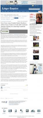 Dmitri Chavkerov -  Columbus Ledger-Enquirer (Columbus, GA)  - Consistent Money