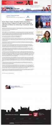 Dmitri Chavkerov -  WRCB-TV NBC-3 (Chattanooga, TN)  - Consistent Money