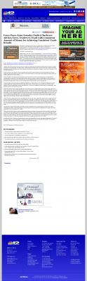 Dmitri Chavkerov -  WWBT NBC-12 (Richmond, VA)  - Consistent Money