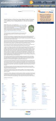 Dmitri Chavkerov -  Austin American-Statesman (Austin, TX)  - Lean Forex Trading