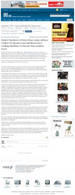 Dmitri Chavkerov -  Belleville News-Democrat  - Lean Forex Trading