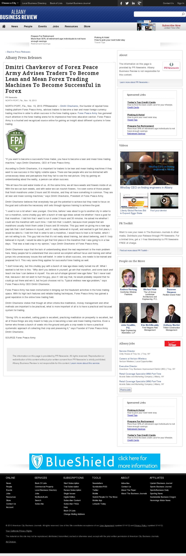 Dmitri Chavkerov - Business Review (Albany) - Lean Forex Trading