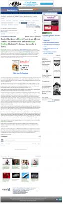 Dmitri Chavkerov -  Inside Bay Area  - Lean Forex Trading