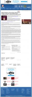 Dmitri Chavkerov -  KCBD NBC-11 (Lubbock, TX)  - Lean Forex Trading