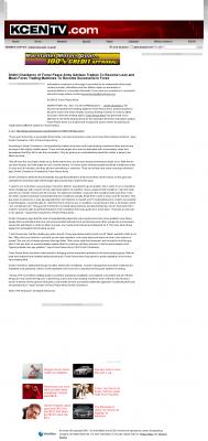 Dmitri Chavkerov -  KCEN-TV NBC-9 (Temple, TX)  - Lean Forex Trading