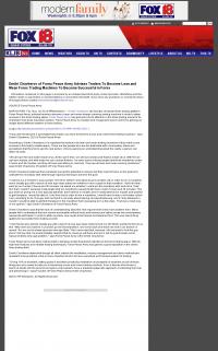 Dmitri Chavkerov -  KLJB-TV FOX-18 (Davenport, IA)  - Lean Forex Trading