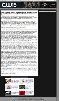 Dmitri Chavkerov -  KXVO-TV CW-15 (Omaha, NE)  - Lean Forex Trading