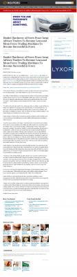 Dmitri Chavkerov -  Reuters  - Lean Forex Trading