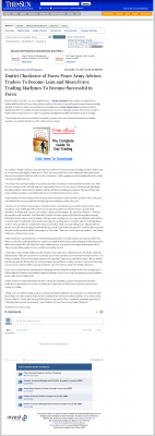Dmitri Chavkerov -  San Bernardino County Sun (San Bernardino, CA)  - Lean Forex Trading