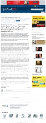 Dmitri Chavkerov -  The Sun News (Myrtle Beach, SC)  - Lean Forex Trading