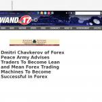 Dmitri Chavkerov - WAND-TV NBC-17 (Decatur, IL) - Lean Forex Trading