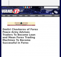 Dmitri Chavkerov -  WAND-TV NBC-17 (Decatur, IL)  - Lean Forex Trading